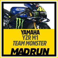 Kit Adesivi Yamaha YZF M1 - Team Factory MOTOGP 2019  - High Quality Decals