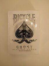 1 Deck Bicycle Ghost Playing Cards UV500 (RARE)