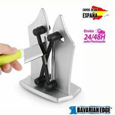 Bavarian Edge Afilador de Cuchillos de Acero - Plata