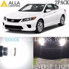 Alla Lighting Back-Up Reverse Light 921 LED Backup Bulbs Lamp for Honda Accord