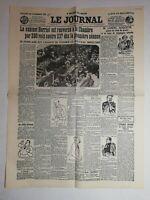 N1035 La Une Du Journal Le journal 22 juillet 1926 cabinet herriot renversé