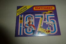 Matchbox Collector's Catalog 1975 edition w/ Official Drivers License/Lesney