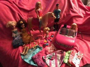 💖Barbie and Disney princess doll bundle! With dancing horse !💖