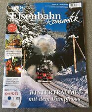 Heft Eisenbahn Romantik Preßnitztalbahn Bernina Mallorca DVD Xrot9213 Reichsbahn