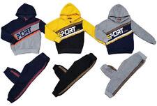 Kinder Jungen Jogginganzug Trainingsanzug Sportanzug Pullover Hoodie Hose Set