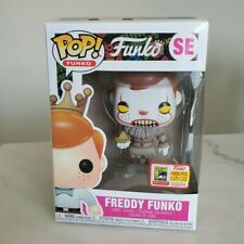Funko Pop!Freddy Funko SE(Pennywise)2018 SDCC Limited Edition Sticker Label Mint