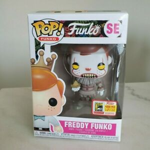 U.S SELLER FREDDY FUNKO SE (PENNYWISE) with soft protector (read description)