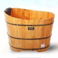 Bathtub Cask Adult Barrel Bath Tub Solid Wood Bathroom House Bathing Wooden Tool