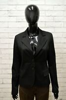 Giacca Donna Nera GUESS Taglia M Trench Blazer Jacket Woman Blouson Homme Black