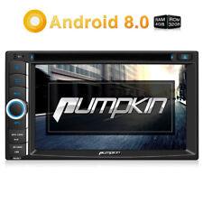 PUMPKIN Autoradio Android 8.0 DVD Moniceiver 8Core Doppel 2DIN Bluetooth DVR FM