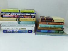 Max Lucado Book Lot of 15  Next Door Savior Come Thirsty He Chose Nails ++