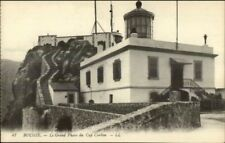 Bougie France Grand Phare Lighthouse Cap Carbon c1915 Postcard