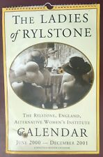 The Ladies of Rylstone calendar, June 2000-December 2001, good condition