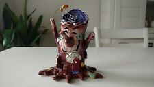 BLUE SKY CLAYWORKS GOLDMINC HALLOWEEN WEBSTERS SPIDER TREE T LIGHT HOUSE HAUNTED