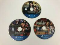 Lot of 3 Nobunaga's Ambition Taishi, Sphere Influence & Ascension PS4 Disc Only