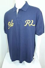 Polo Ralph Lauren Custom Fit Classic-Fit Varsity Mesh Polo Shirt XSmall Blue NWT