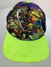 Teenage Mutant Ninja Turtles Tmnt Snapback Ragazzi Cappello