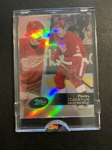 2002-03 ETopps Pavel Datsyuk Uncirculated SP Refractor