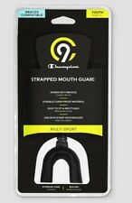 New Champion Strapped Mouth Guard Orthodontics Approved Braces Compatible Youth