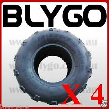 "4X QIND 4PLY 16 X 8- 7"" inch Front Rear Tyre Tire 125cc Quad Drit Bike ATV Buggy"