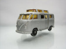 Diecast Lesney Matchbox Volkswagen Camper No.34 Silver Grey Good Condition