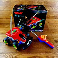 Rare Vintage 1990 Tomy Little Rc Buggy Car Boxed Full Working Superb Condition
