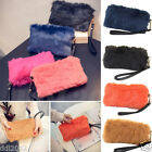 Fashion Women Handbag Plush Crossbody Shoulder Bags Clutch Tote Wallet Purse Bag