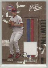 2004 Donruss Leather & Lumber Materials Jerseys Prime /25 Kevin Millwood #114