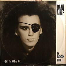 DEAD OR ALIVE • In Too Deep • Vinile 12 Mix • 1985 EPIC