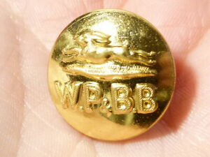 Vintage WP & BB Worcester Park and Buckland Beagles HARE HUNT Button #FH31