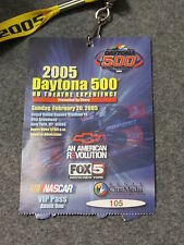 Daytona 500 February 20 2005 VIP Viewing Party Regal Theater NYC Ticket Lanyard
