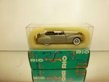 RIO ITALIA #44 LINCOLN CONTINENTAL 1941 - 1:43 - GOOD CONDITION IN BOX