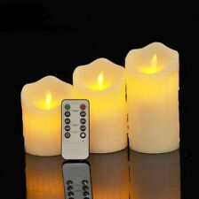 Flameless Candles Flickering Real Wax LED Candles With Remote Control Romantic