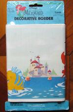 Disney The Little Mermaid Ariel Wallpaper Border NEW Borden Brand 5 Yards Canada