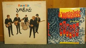 "The Yardbirds The Single Hits 10"" LP+ Having a Rave Up LP Jeff Beck Eric Clapton"