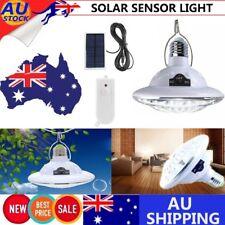 22 LED Outdoor Solar Powered Dual Light Flood Lamp Security Garage Garden Light
