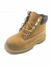 Timberland Classic Beige Nubuck 6' Inch Premium Boots Toddlers (Size: 9) 12809