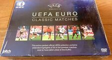 UEFA Euro Classic Football Matches Box Set 6 DVDs NEW & SEALED
