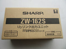 Sharp ZW-162S PLC DC Output Module DC12/24V NEW!!! Factory Sealed Free Shipping