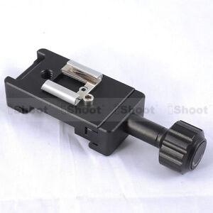 Clamp Blitzschuh für Kamera Kugelkopf Schnellwechselplatte Kameraplatte & Blitz
