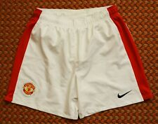 Manchester United, Home Football Shorts by Nike, Youth, Boys XL, 158-170, 13/15