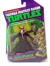 Teenage Mutant Ninja Turtles Basic Dojo Splinter Action Figure Playmates USED JC