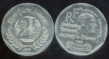 FRANCE 2 francs  1998  RENE CASSIN  ( ca )