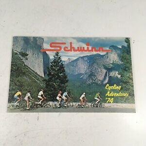 1974 Schwinn Cycling Adventures Bicycle Catalog