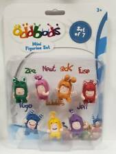 Oddbods Mini Figurine Set. Original. Ship from EU. Best Quality.