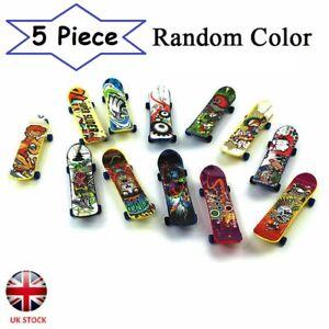 Mini 5 Pack Finger Board Tech Deck Truck Skateboard Toy Gift Kids Children - UK