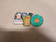3 BRAND NEW Assorted THE HOME DEPOT Pins FREE SHIPPING