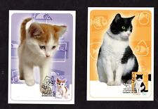 Cats on Stamps and Postal Cards