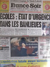 ▬► Journal France Soir 15/01/1998 Véronique Sanson Fabienne Thibeault