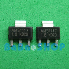 20pcs AMS1117-1.8 LM1117-1.8 LM1117 AMS1117 1.8V 1A Voltage Regulator SOT-223